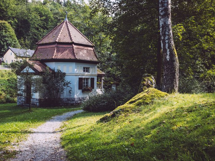 Quellenhäuschen in Hölle (Naila, Bayern)