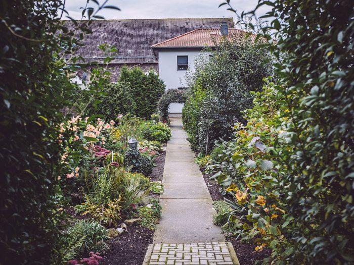 Garten in Schmatzfeld (Hordharz, Sachsen-Anhalt)