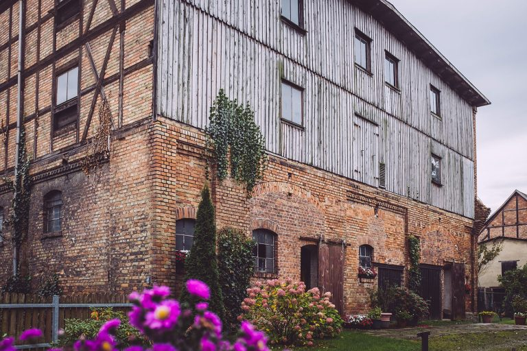 Backsteinhaus in Schmatzfeld (Hordharz, Sachsen-Anhalt)