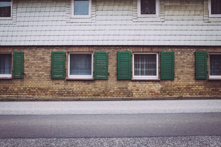 Hauswand in Schmatzfeld (Hordharz, Sachsen-Anhalt)