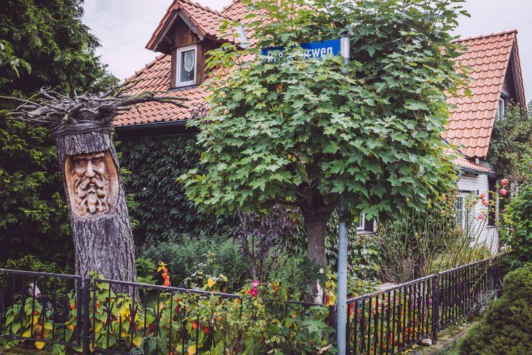 Vorgarten in Schmatzfeld (Hordharz, Sachsen-Anhalt)