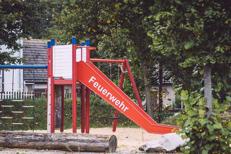 Spielplatz in Schmatzfeld (Hordharz, Sachsen-Anhalt)