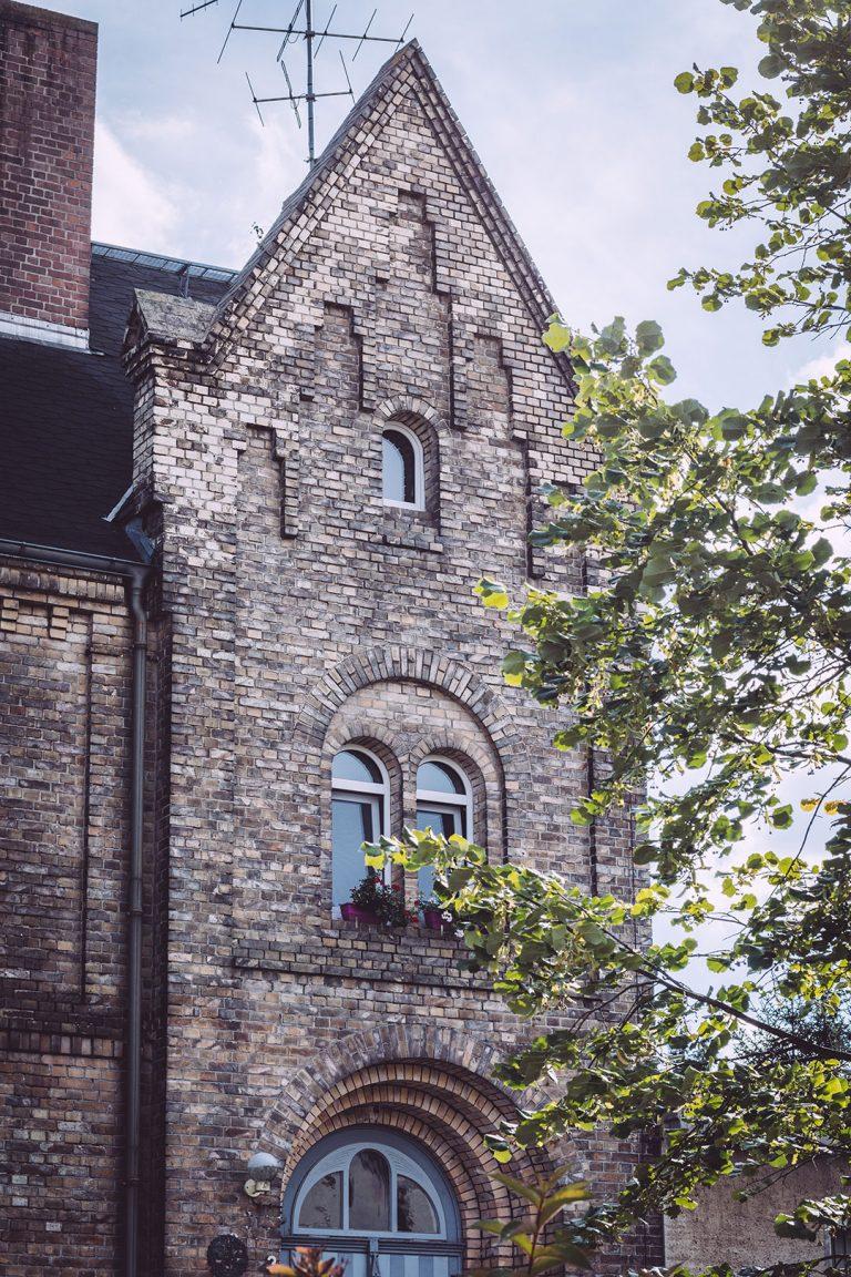Altes Gebäude in Teicha (Petersberg, Sachsen-Anhalt)