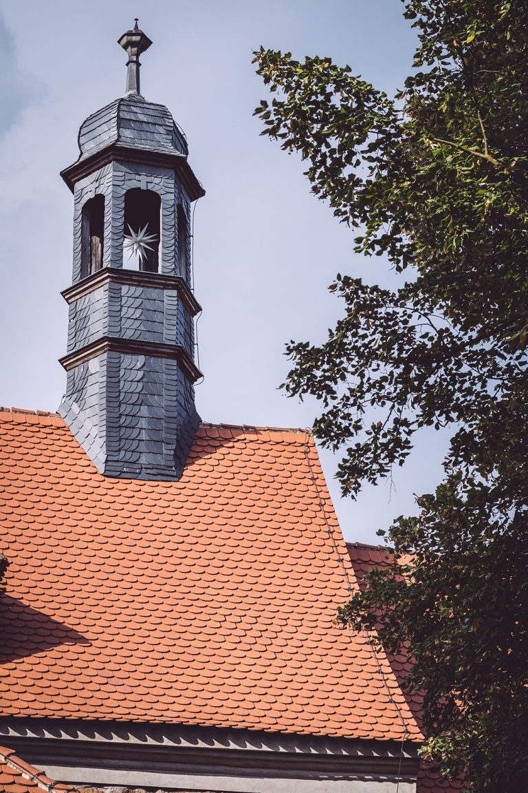 Kirchturm in Teicha (Petersberg, Sachsen-Anhalt)