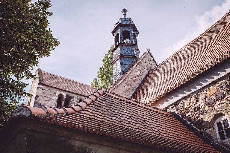 St. Mauritius Kirche in Teicha (Petersberg, Sachsen-Anhalt)