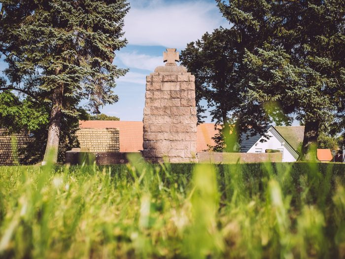Denkmal in Teicha (Petersberg, Sachsen-Anhalt)