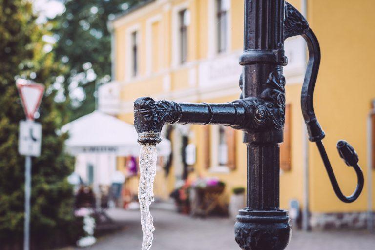 Brunnen in Teicha (Petersberg, Sachsen-Anhalt)