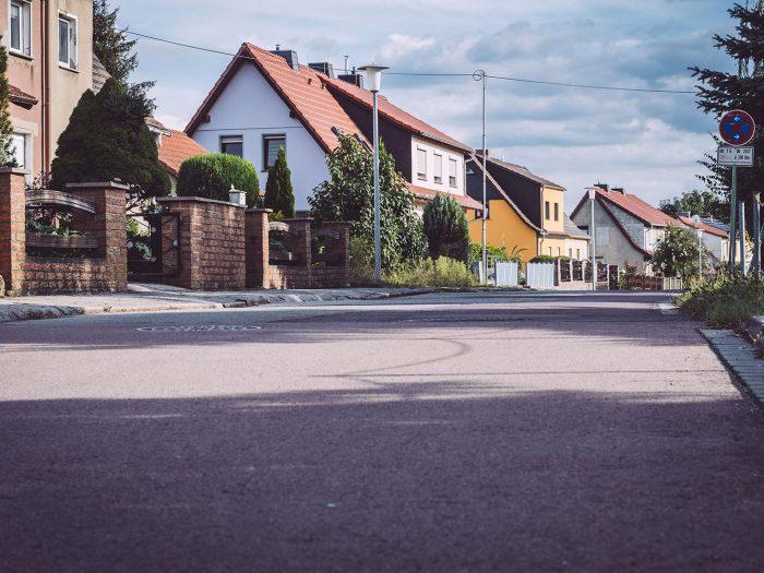 Häuser in Teicha (Petersberg, Sachsen-Anhalt)