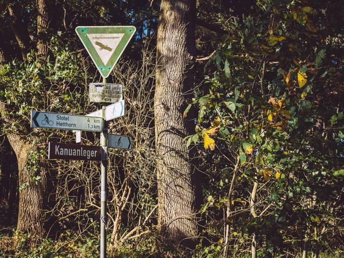 Kanuanleger in Düring (Loxstedt, Cuxhaven, Niedersachsen)