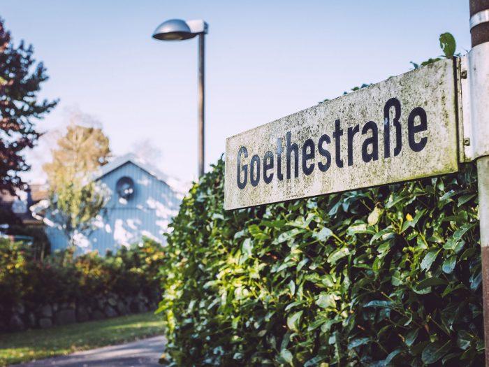 Goethestraße in Düring (Loxstedt, Cuxhaven, Niedersachsen)