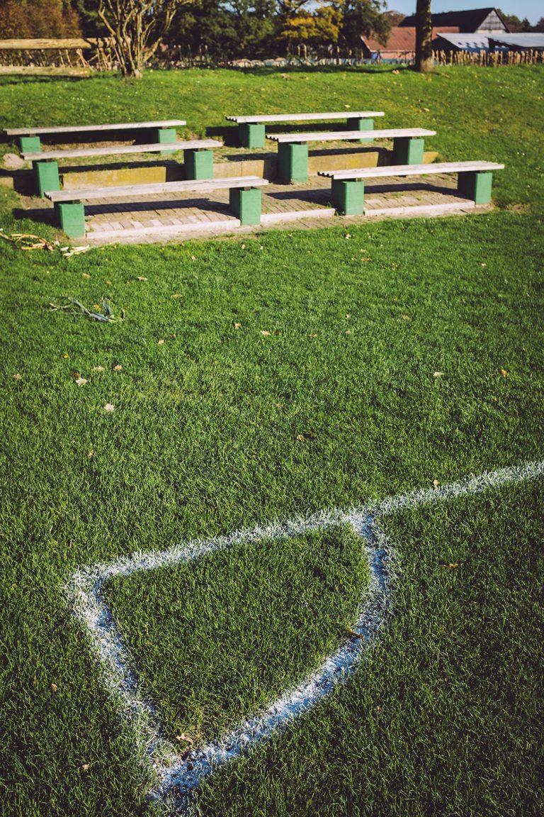 Sportplatz in Düring (Loxstedt, Cuxhaven, Niedersachsen)