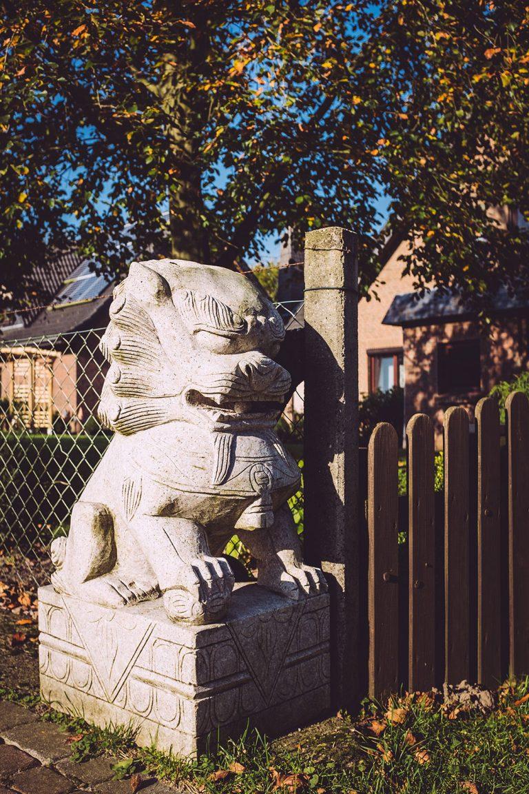 Skulptur in Düring (Loxstedt, Cuxhaven, Niedersachsen)