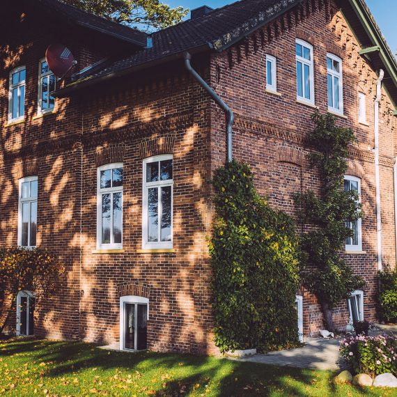 Backsteinhaus in Düring (Loxstedt, Cuxhaven, Niedersachsen)