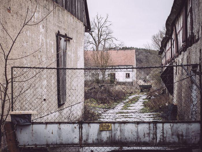 Hof in Bärenrode (Güntersberge, Harz, Sachsen-Anhalt)