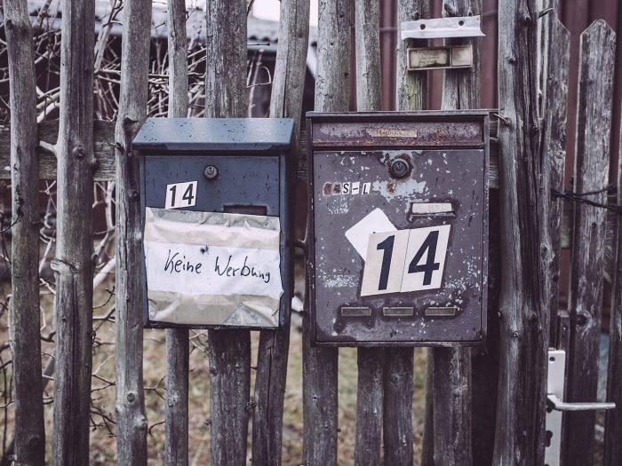 Briefkästen in Bärenrode (Güntersberge, Harz, Sachsen-Anhalt)