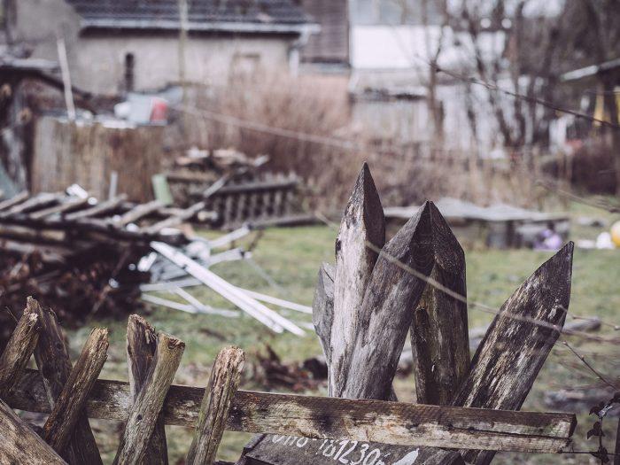 Zaun in Bärenrode (Güntersberge, Harz, Sachsen-Anhalt)