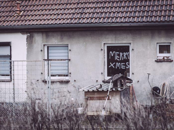 Merry Xmes in Bärenrode (Güntersberge, Harz, Sachsen-Anhalt)
