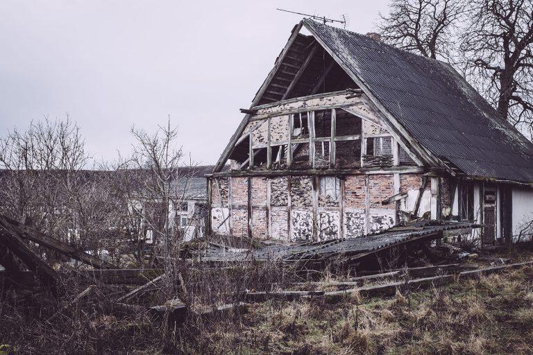 Fassade in Bärenrode (Güntersberge, Harz, Sachsen-Anhalt)