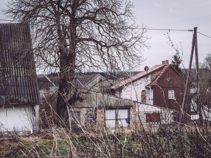 Häuser in Bärenrode (Güntersberge, Harz, Sachsen-Anhalt)