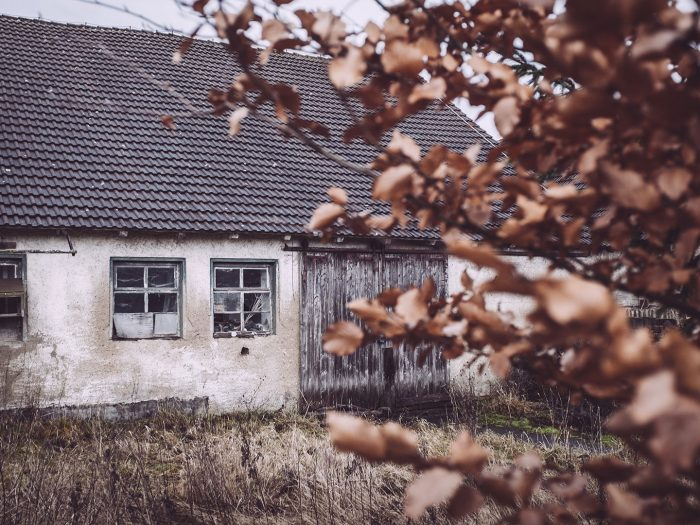 Scheune in Bärenrode (Güntersberge, Harz, Sachsen-Anhalt)