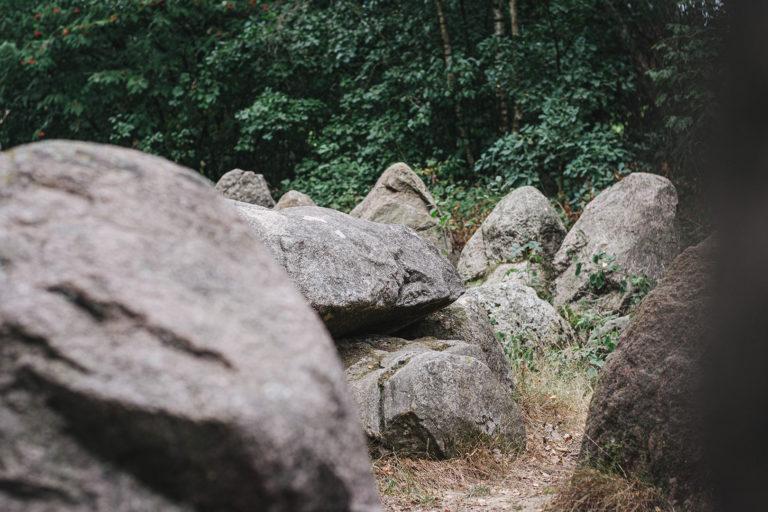 Große Steine in Kleinenkneten (Wildeshausen, Niedersachsen)