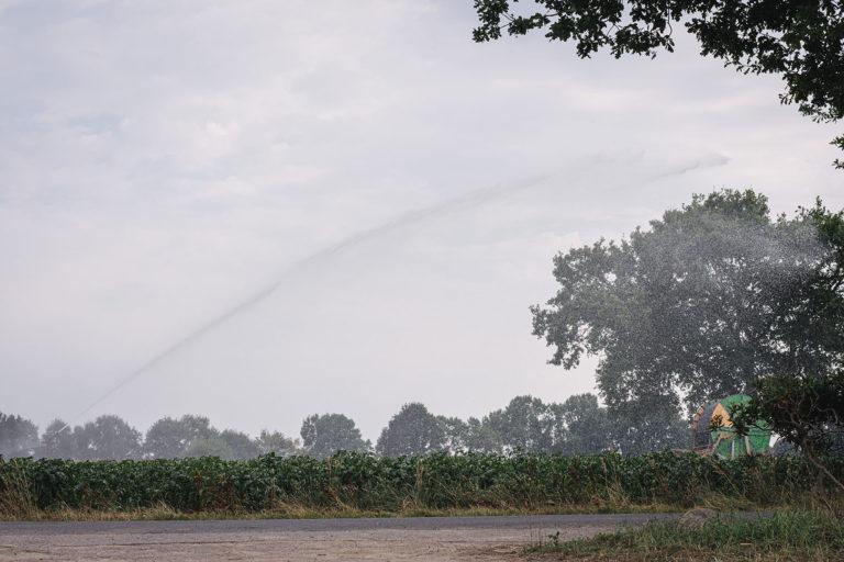 Wassersprenger in Kleinenkneten (Wildeshausen, Niedersachsen)