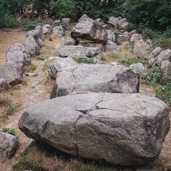 Kleinenknetener Steine in Kleinenkneten (Wildeshausen, Niedersachsen)