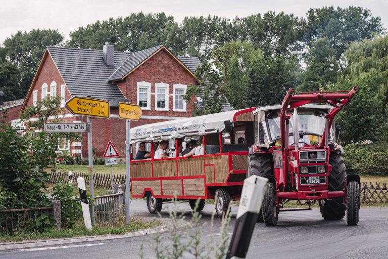 Junggesellenumzug in Kleinenkneten (Wildeshausen, Niedersachsen)