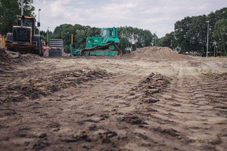 Bauarbeiten in Kleinenkneten (Wildeshausen, Niedersachsen)