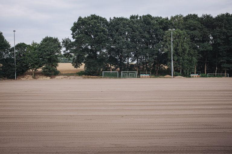 Fußballplatz in Kleinenkneten (Wildeshausen, Niedersachsen)