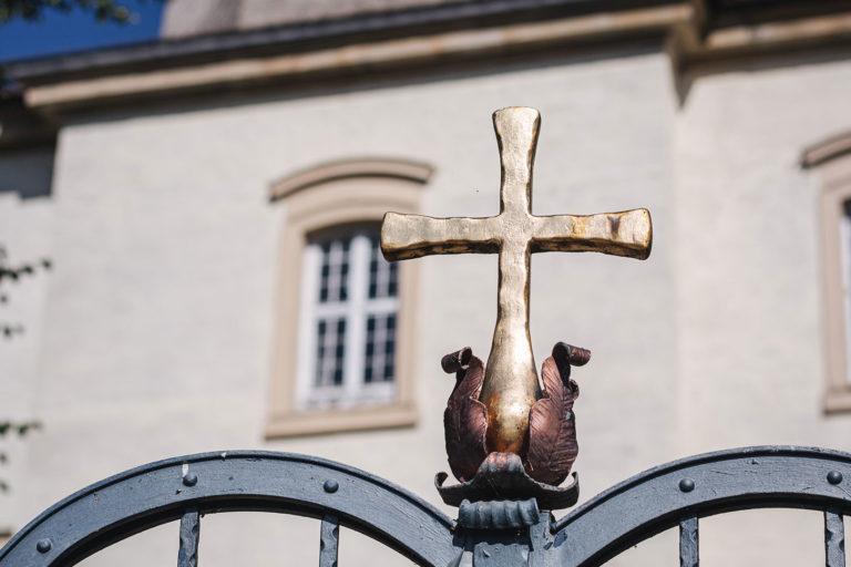 Christliches Kreuz in Werningshausen (Sömmerda, Thüringen)