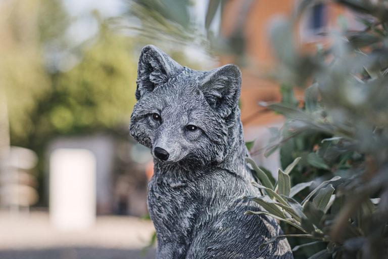Fuchs Figur in Werningshausen (Sömmerda, Thüringen)