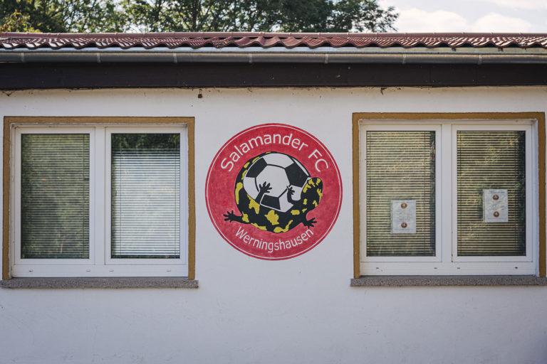 Vereinshaus Salamander FC Werningshausen (Sömmerda, Thüringen)