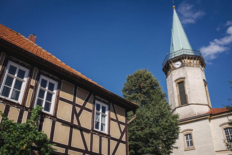Kirche in Werningshausen (Sömmerda, Thüringen)