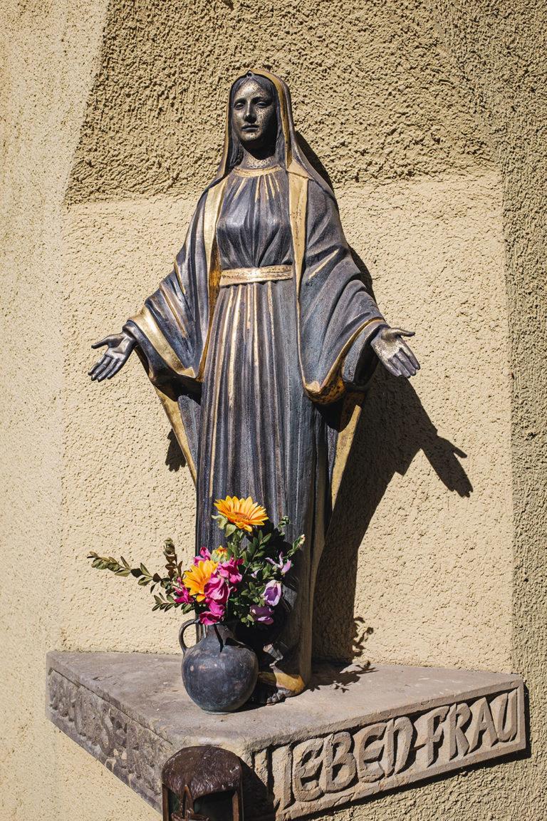 Lieben Frau Figur in Werningshausen (Sömmerda, Thüringen)