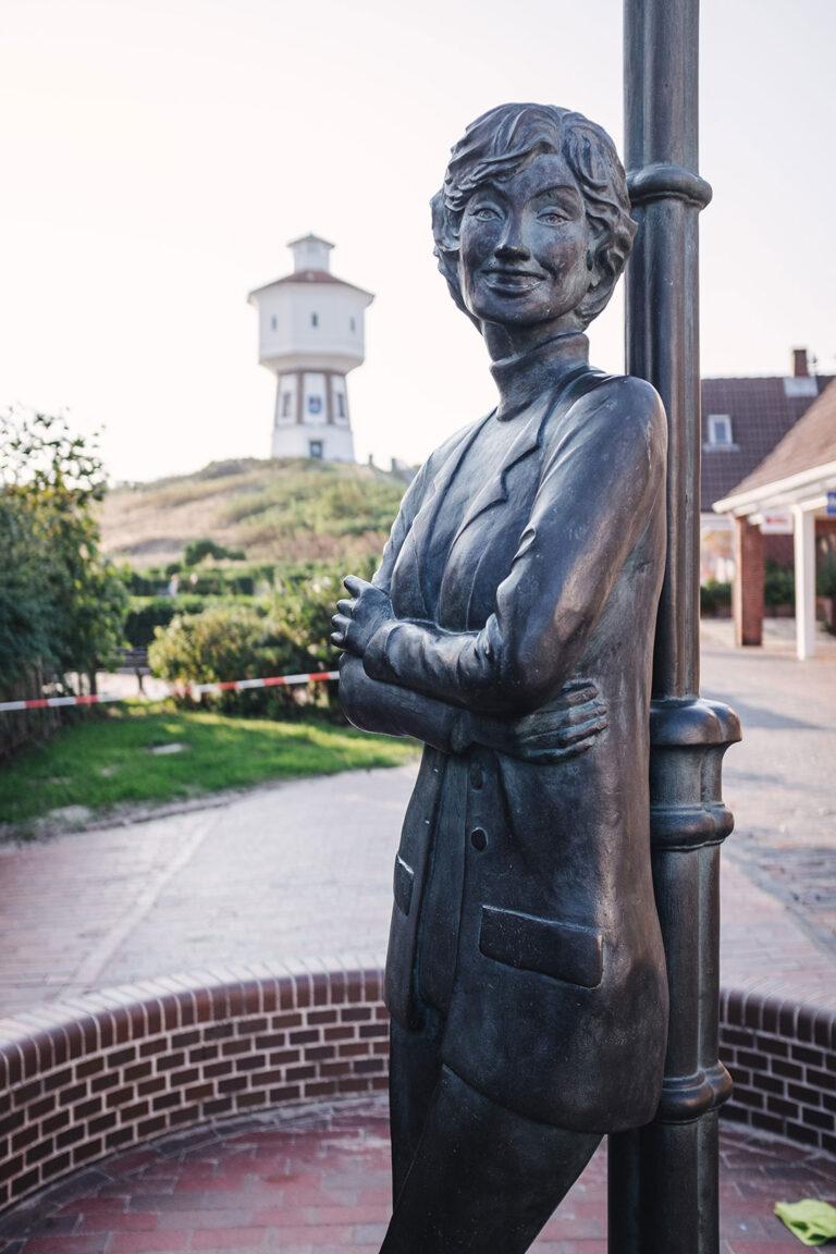 Lale Andersen Denkmal auf Langeoog (Wittmund, Niedersachsen)