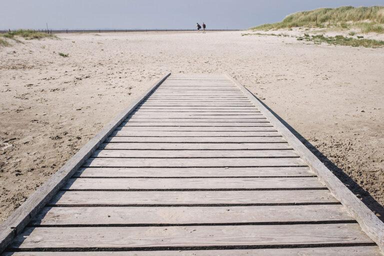 Sandstrand auf Langeoog (Wittmund, Niedersachsen)