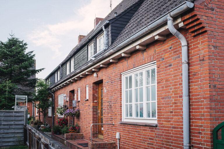 Rotklinkerhaus auf Langeoog (Wittmund, Niedersachsen)