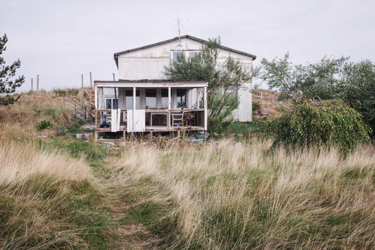 Zerfallenes Haus auf Langeoog (Wittmund, Niedersachsen)
