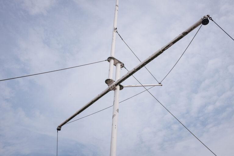 Mast auf Langeoog (Wittmund, Niedersachsen)